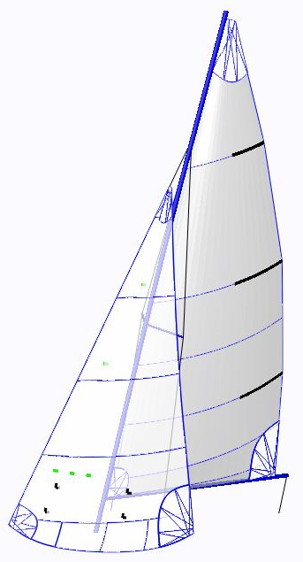 GP14 Sails - ComputerCut